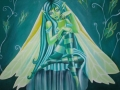 Grøn fairy: 100/100cm